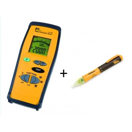 Měřič izolace Ideal 61-795 a indikátor napětí 61-025
