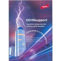 Program DEHN support + TOOLS 3D nadstavba (program hromosvody)